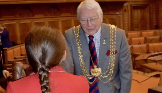 Froebelian Pupils Have Tea With The Lord Mayor