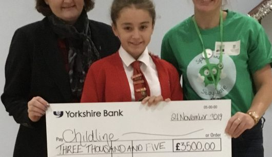 Froebelian Raises £1000s for Childline
